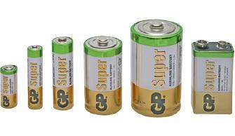 Batterien - Akkus - Knopfzellen