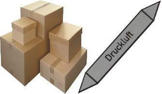 Aufkleber - Versandverpackungen