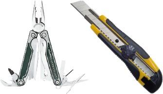Multifunktionswerkzeuge - Messer