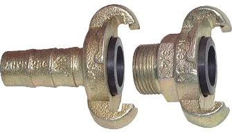 Kompressorkupplungen, 42 mm Klauenweite (DIN 3489 / DIN 3238)