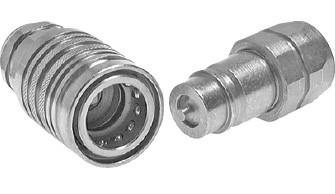 Hydraulikkupplungen für Land- und Baumaschinen, ISO 7241-1 A