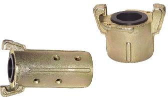 Sandstrahlkupplungen, 58 mm Klauenweite