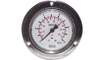 Einbaumanometer (auch für Vakuum)