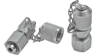 Messanschlüsse M 16 x 2 - M 16 x 1,5 - Steckanschluss