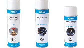 Atlas Sprays - Kleb- und Dichtstoffe - Pasten - Reiniger