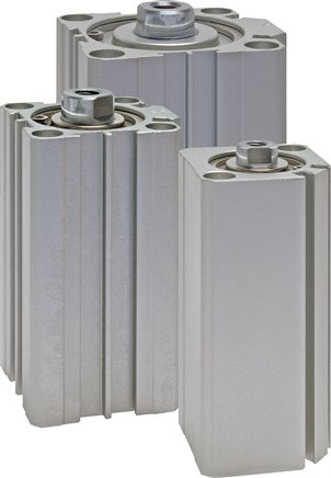 Kompaktzylinder doppeltwirkend mit Magnetkolben, Eco-Line (Auslaufartikel)